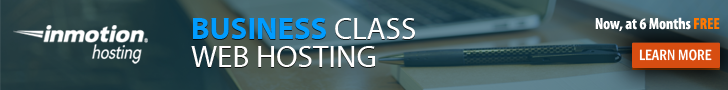 Business Class Web Hosting Ad