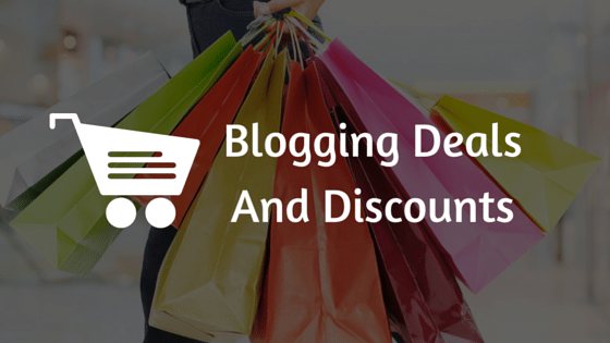 Blogging Deals And Discounts