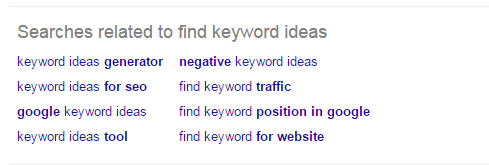Google Related Search Terms - Rank Keywords Without backlinks
