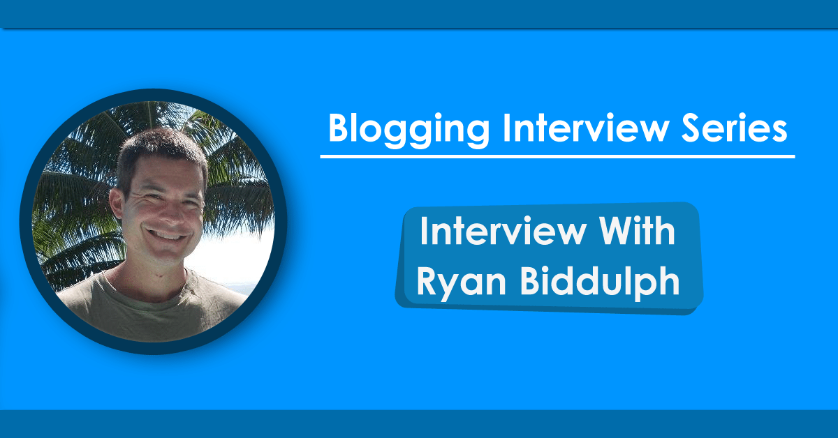 interview with ryan biddulph