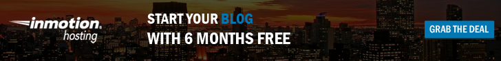 Start your blog with 6 months free web hosting