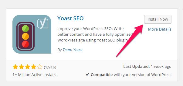Installing plugins WordPres