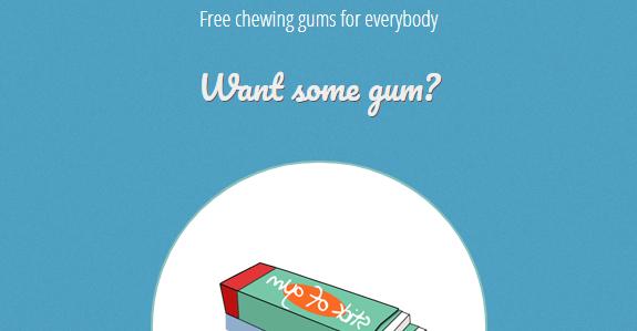 Stick of gum trick website
