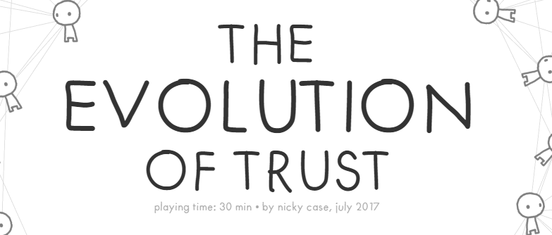 the evolution of trust game