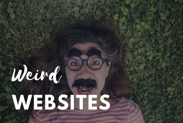 top weird websites
